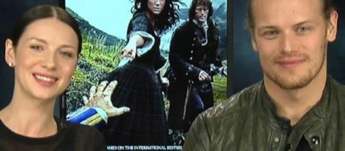 Sam Heughan, Caitriona Balfe talks Outlander Season 3/ Sidewalks Entertainment via Flickr