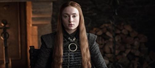 Sansa Stark no primeiro episódio da sétima temporada de Game of Thrones