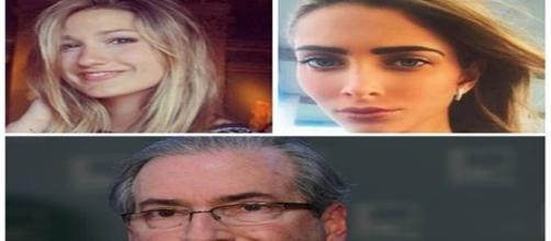 Sasha e filha de Eduardo Cunha nunca se encontraram. ( Fotos: Google)