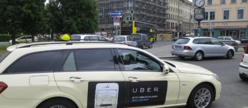Uber car | credit, Alper Çuğun, flickr.com
