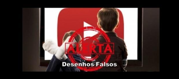 Alerta aos pais: desenhos falsos no Youtube!