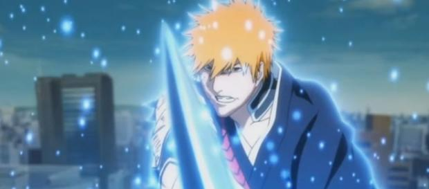 "Kurosaki, Ichigo Bleach (Anime) Credit - YouTube.com ""Top 10 Bleach Bankai"" Channel: AnimesConnectPeople"
