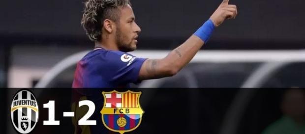 Neymar se destaca no jogo de pré-temporada contra a Juventus nos EUA