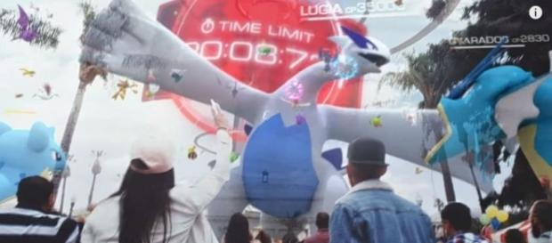Niantic recently released the legendary birds Lugia and Articuno - YouTube/Pokémon GO