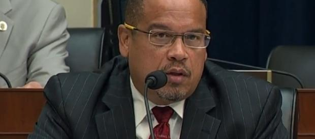 photo Keith Ellison screengrab via Youtube | C-SPAN