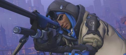 Ana is one of the support heroes in 'Overwatch' (Image: YouTube/IGN)