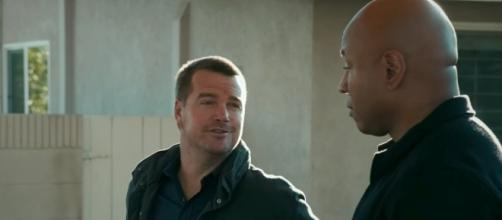 Callen (Chris O'Donnell) and Sam (LL Cool J) for 'NCIS: LA'/Photo via screencap, 'NCIS: LA'/CBS
