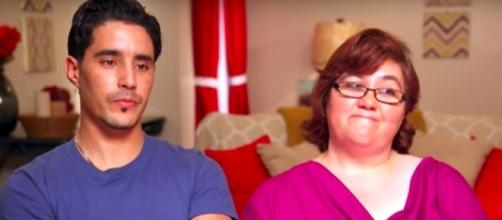Danielle and Mohamed--Image via TLC/YouTube