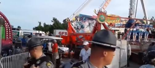 Deadly ride malfunction at Ohio State Fair/ Photo via YouTube/ CBC News