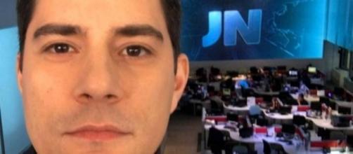 Evaristo Costa de despediu hoje dos estúdios da Globo