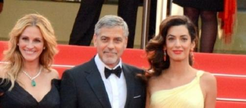 George Clooney has threatened to sue French magazine Voici for the publication of his twins' photos/Photo via Georges Biard, Wikimedia Commons