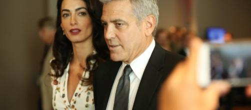 George Clooney plans to sue magazine over pictures of twins | [Image source: Youtube Screen grab]