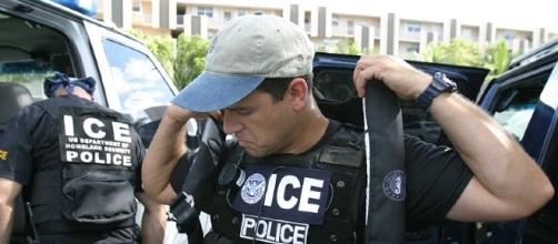 ICE Agents suit up (United States government wikimedia)
