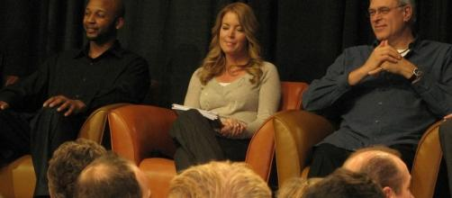 Jeanie Buss (middle) / photo by donielle via Flickr