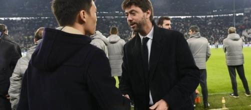 Il presidente della Juventus, Andrea Agnelli