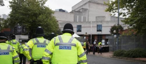 La policía británica investiga la zona donde sucedieron los hechos.