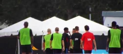 L'embrouille incroyable entre Semedo et Neymar ce matin.