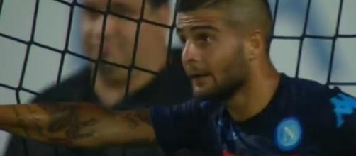 Lorenzo Insigne, attaccante del Napoli
