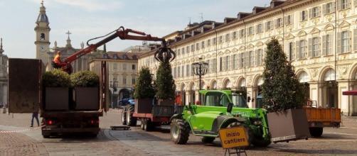 Misure antiterroristiche nel centro di Torino