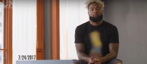 OBJ says he should be the highest paid player in the NFL. Image credit: YouTube