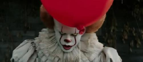 Pennywise actor Bill Skarsgård insists Stephen King's 'It' is 'not a remake'/Photo via Cieon Movies, YouTube