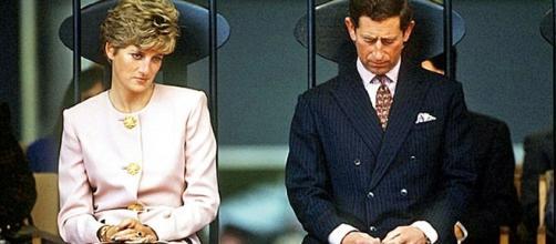 Princesa Diana e Príncipe Charles (Foto: Reprodução)