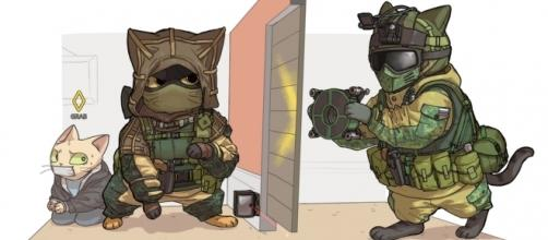 Rainbow Six Siege Art ( fonte reddit.com)