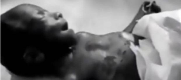 Bebê reaparece vivo após ser dado como morto (Foto: Reprodução)