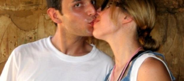 Erika Preti e il fidanzato reo confesso, Dimitri Fricano (Foto da Facebook)