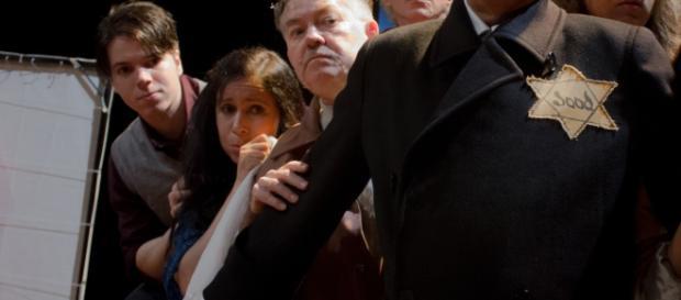 O Cena Livre faz apresentação única de sua interpretação para ''O Diário de Anne Frank''