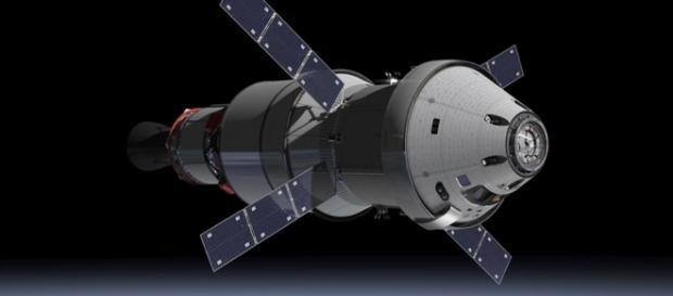 Orion in flight (Courtesy NASA)