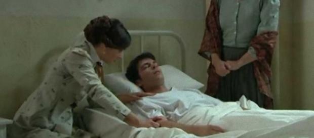 Una Vita: Pablo tra la vita e la morte, Leonor disperata.