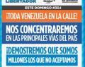 Venezuela voto o tranca para el 30J