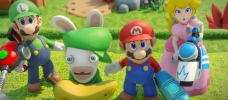 Mario + Rabbids Kingdom Battle: E3 2017 Announcement Trailer | Ubisoft [US] from YouTube/Ubisoft US