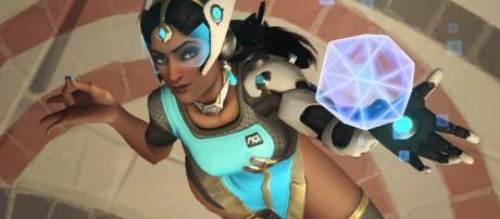 'Overwatch' hero Symmetra is one of the Support characters. (image source: YouTube/Overwatch)