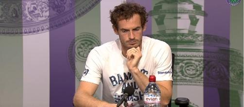 Andy Murray/ Photo: screenshot via Wimbledon official channel on YouTube