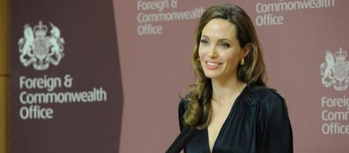 Angelina Jolie/ Photo via Foreign and Commonwealth Office, Flickr