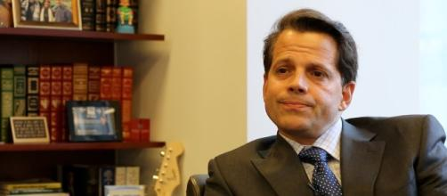 Anthony Scaramucci's wife, Deidre Ball, allegedly filed for divorce. Image credit - OneWire/YouTube.