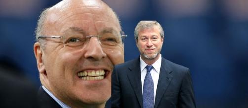 Marotta e Abramovich per l'acquisto di Alex Sandro