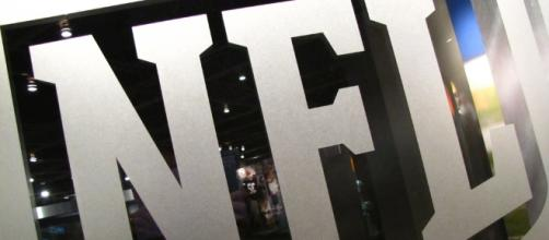 NFL logo at the Pro Football Hall of Fame by Matt McGee via Flickr