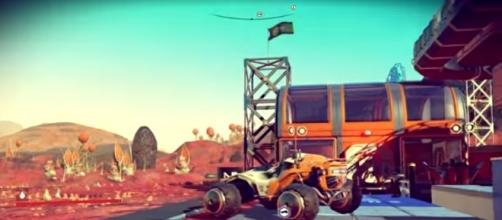 'No Man's Sky' Update 1.3 will likely introduce a new race, latest clues suggest. HelloGamesTube/YouTube