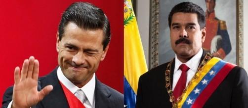 Orgulloso con más de 200 mil muertos y su país prácticamente vendido, Peña Nieto interviene en Venezuela contra Maduro
