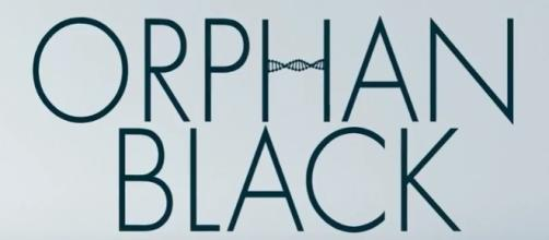 Orphan Black logo via a Youtube screenshot at: https://youtu.be/y1Dxzo5l3AI