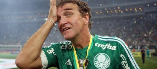 Técnico do Palmeiras, Cuca, não quer mais jogador no elenco