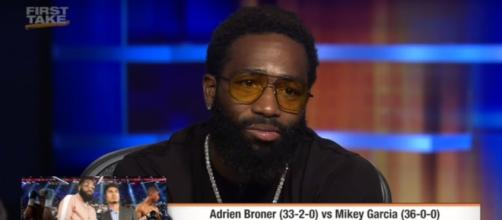 Where does Adrien Broner rank in professional boxing? [Image via YouTube/ESPN]