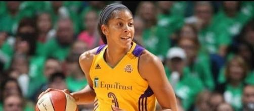 WNBA star Candace Parker achieved the sixth triple-double in the history of the WNBA this past Friday. [Image via WNBA/YouTube]