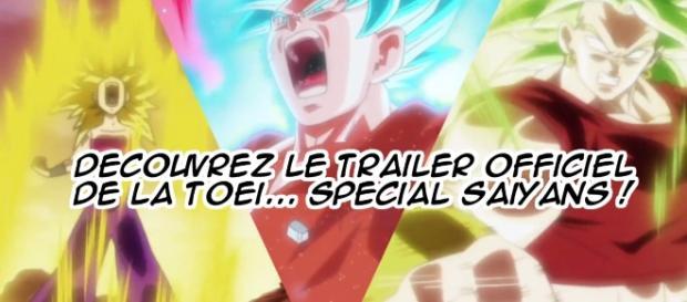DBS: Découvrez le trailer officiel de la Toei... Spécial Saiyans !