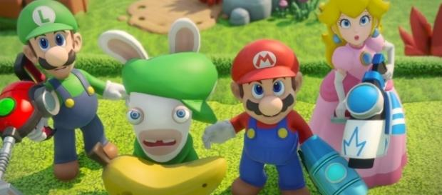 Mario + Rabbids Kingdom Battle: E3 2017 Announcement Trailer | Ubisoft [US] from YouTube/Ubisoft US