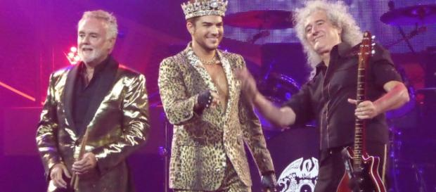 Queen and Adam Lambert. Photo by DianaKat, Courtesy of Wikimedia Commons