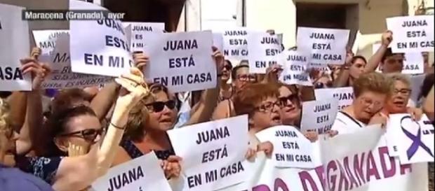 Solidaridad con Juana Rivas y sus hijos